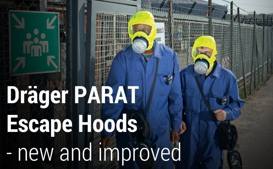 Dräger PARAT Escape Hoods - new and improved