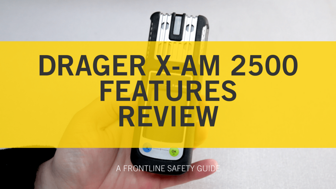 What Are the Key Features of the Drager X-am 2500 Multi-Gas