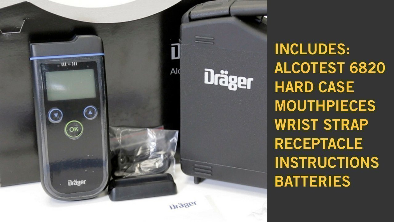 Alcohol Detection Systems >> A Buyer's Guide to the Drager Alcotest 6820 · Frontline ...