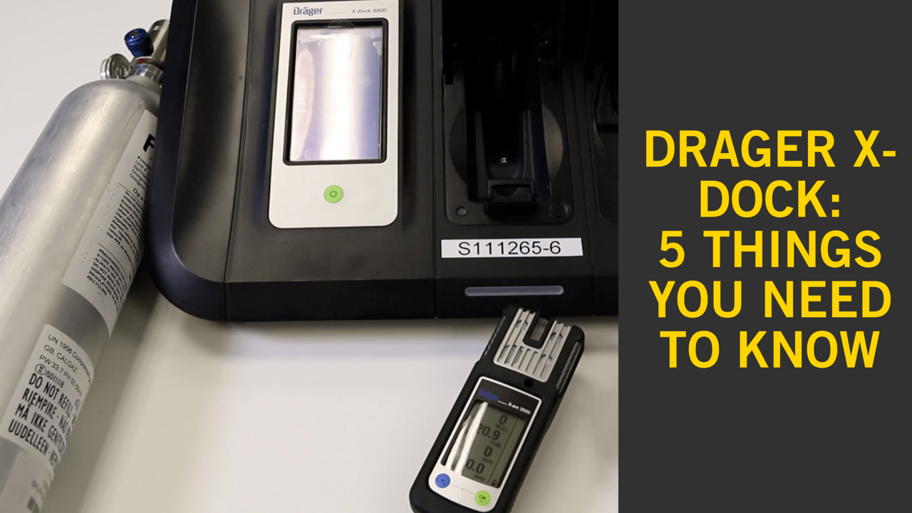 Drager X-Dock Calibration Station - 5 Things to Know