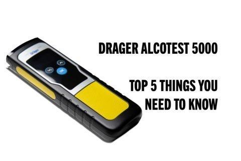 DRAGER ALCOTEST 5000