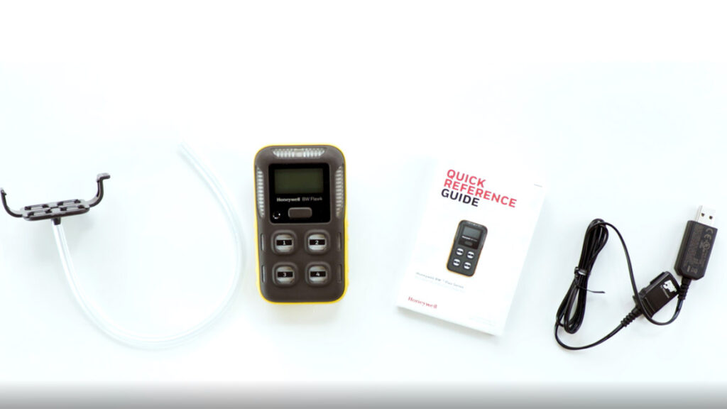 BW Flex Gas Detector - What's in the Box?