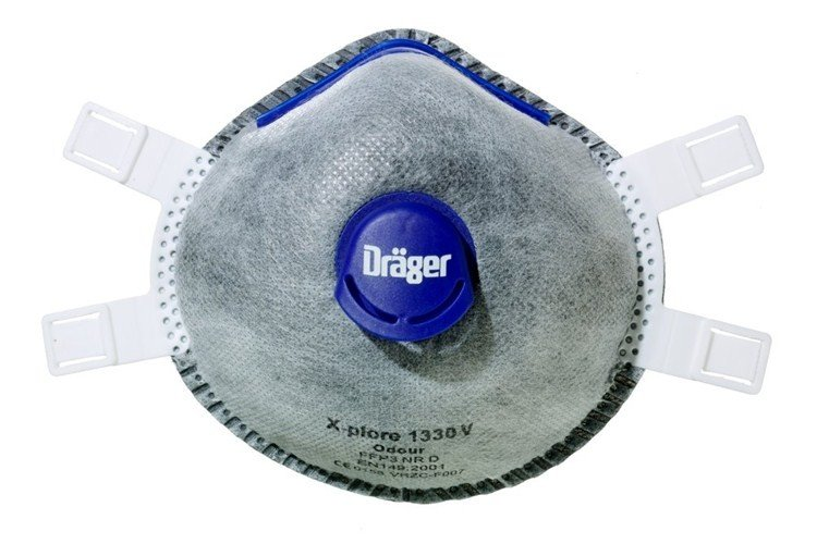 Drager X-plore 1330 (Odour) - FFP3-V (Pack of 5)