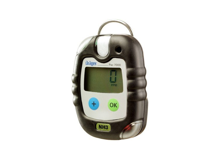 Drager Pac 7000 Ammonia (NH3) Personal Gas Detector