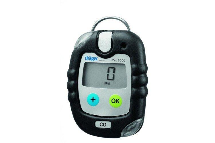 Drager Pac 3500 Carbon Monoxide Co Personal Gas Detector