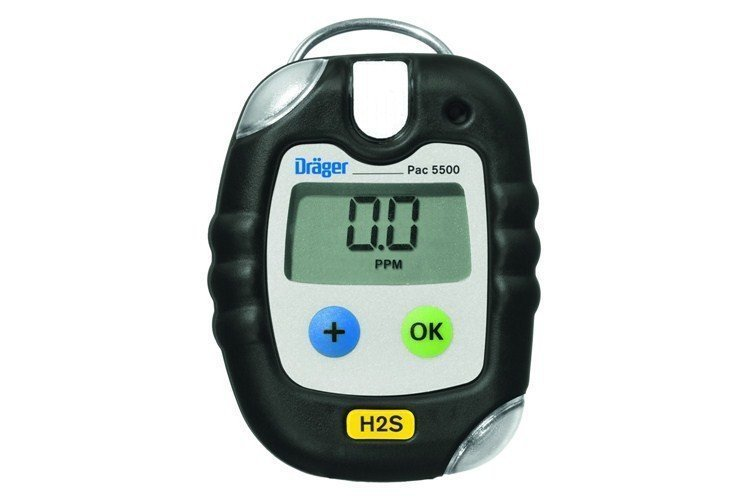Drager - Pac 5500 Hydrogen Sulfide (H2S) Personal Gas Detector