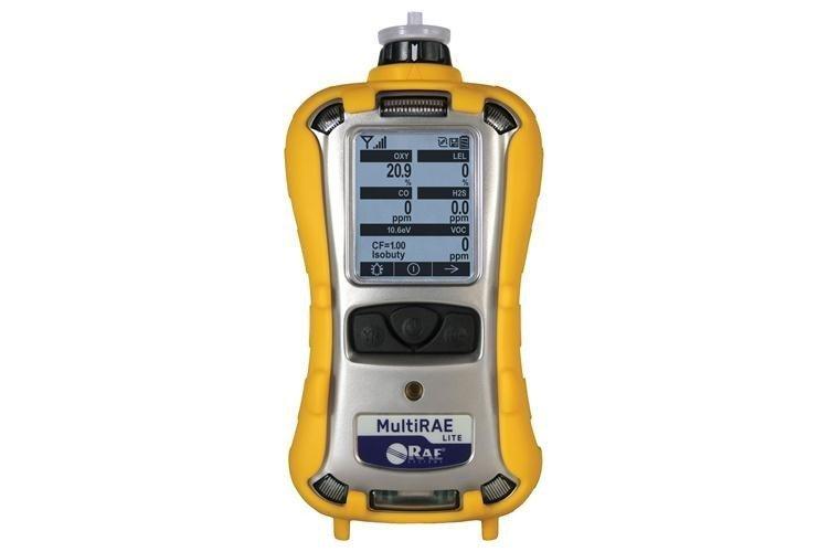 MultiRAE Lite Pumped /O2 / LEL / H2S / CO /SO2 (PGM-6208)