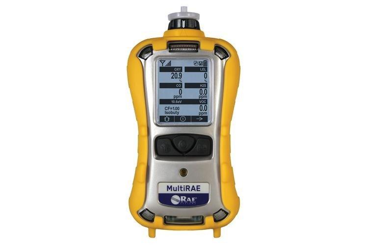 MultiRAE Pumped / 10.6 eV PID/LEL/H2S/CO/O2 Gas Detector (PGM-6228)