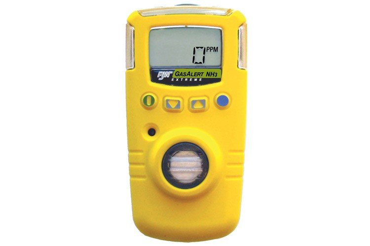 Bw Gasalert Extreme Nh3 Ext Gas Detector Yellow Gaxt A2 Dl
