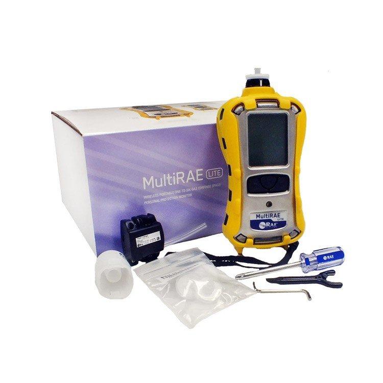 MultiRAE Lite Pumped / 10.6 eV PID / LEL / H2S / CO / O2 (PGM-6208)