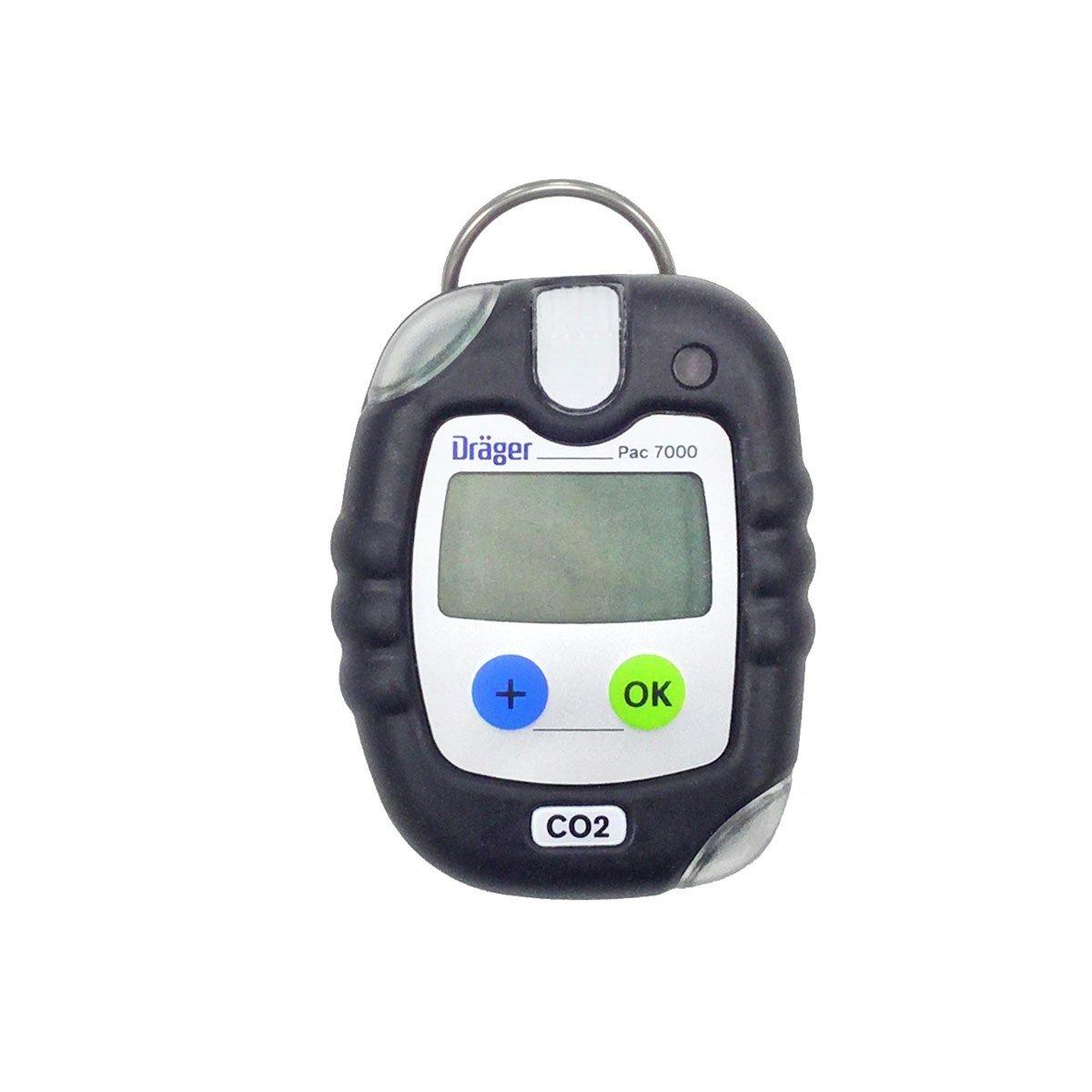 Drager Pac 7000 Carbon Monoxide Co Personal Gas Detector