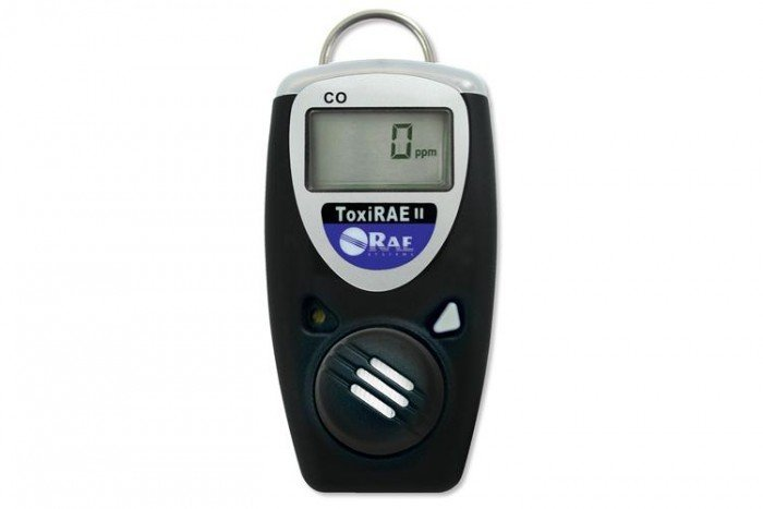 ToxiRAE II Carbon Monoxide (CO) 0-1999 ppm Gas Detector