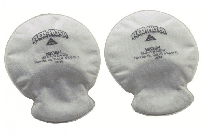MSA P2 R FLEXIfilter (Pack of 5 Pairs)