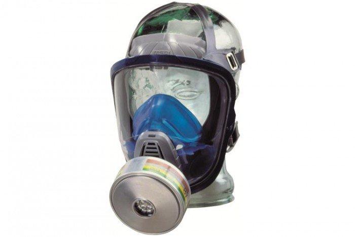MSA Advantage 3112 Full Face Respirator with Silicone Strap (Small)