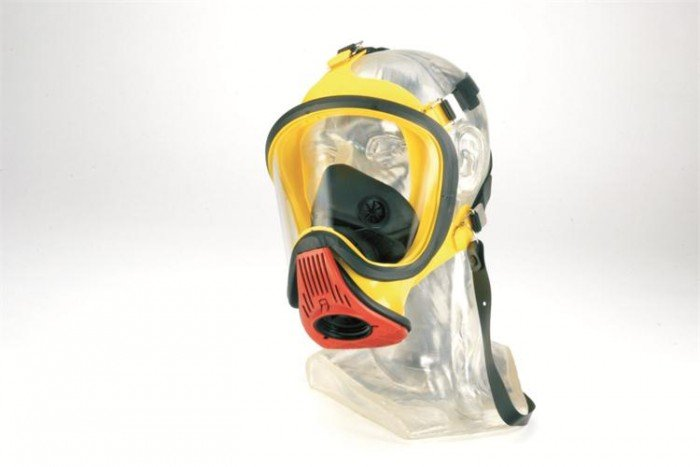 MSA Ultra Elite PS-MaXX Silicone Full Face Mask with Transponder