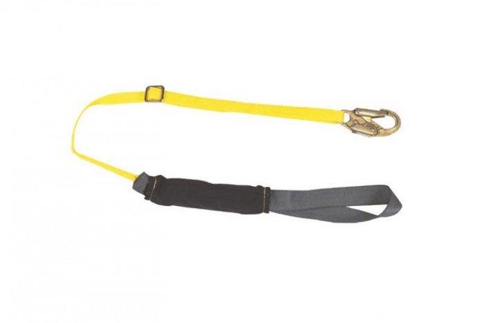MSA ArcSafe Lanyard (Single-Leg/Hitch Loop/1 x 19mm Snaphook)