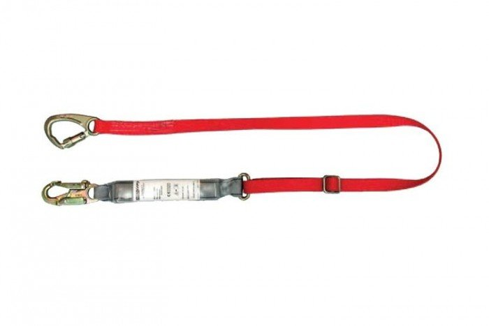 MSA Sure-Stop EN Lanyard (25 mm Monster Edge web)