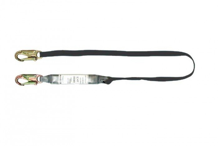 MSA Sure-Stop EN Lanyard (25 mm nylon web/twin-leg)