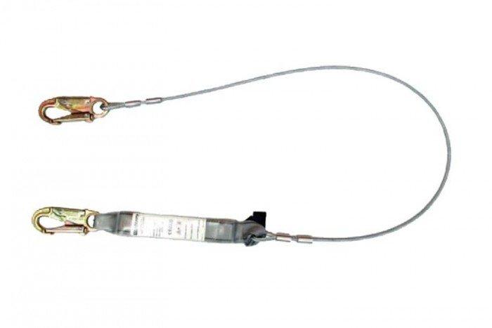 MSA Sure-Stop EN Lanyard (Cable/fixed length/2 snaphooks)