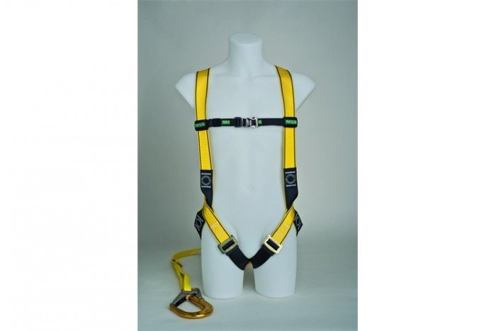 MSA Workman Light Harness Kit - M/Single-Leg/Carabiner