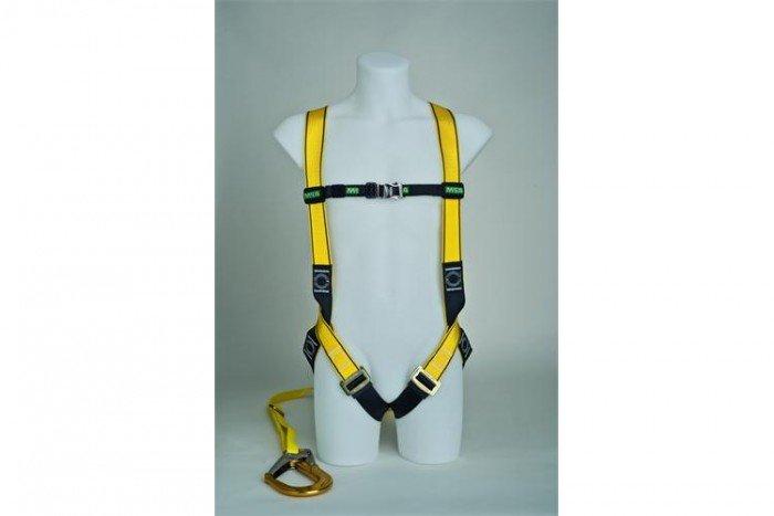 MSA Workman Light Harness Kit - L/Single-Leg/Carabiner