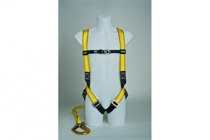 MSA Workman Light Harness Kit - M/Single-Leg/Scaffold