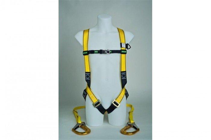 MSA Workman Light Harness Kit - S/Twin-Leg/Carabiner