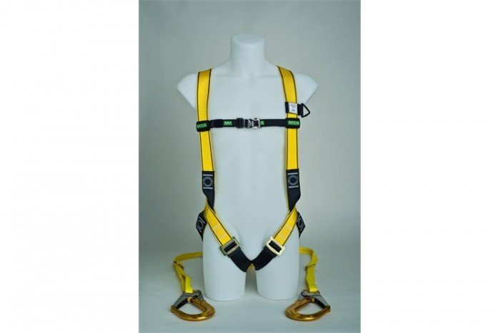 MSA Workman Light Harness Kit - L/Twin-Leg/Carabiner
