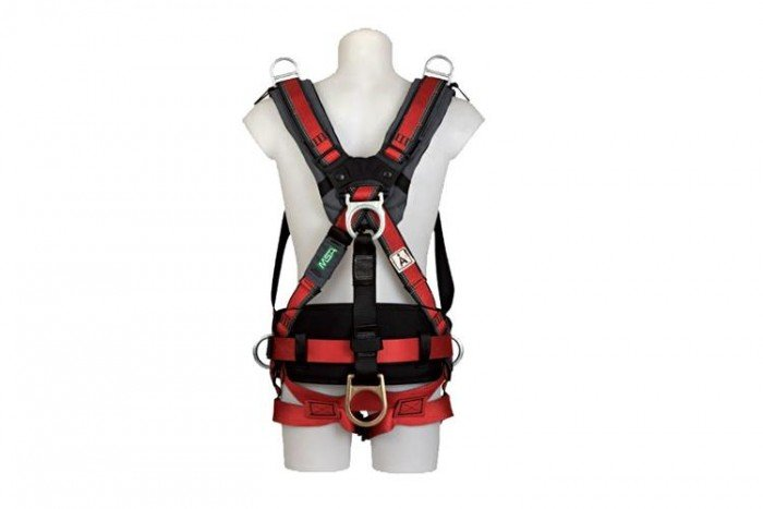 MSA EVOTECH Harness (S/Waist Pad/Dorsal/Hip Shoulder D-ring)