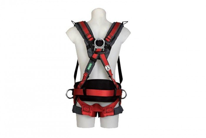 MSA EVOTECH Harness (M/Waist Padding/Hip & Shoulder D-rings)
