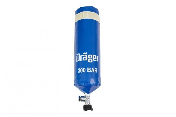 Drager Cylinder Cover (PVC - 9L 300 bar)