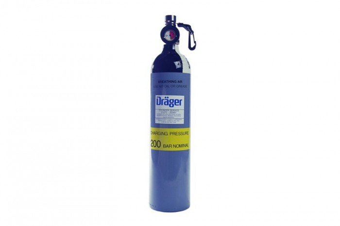 Drager Saver PP Cylinder and Valve (15min)