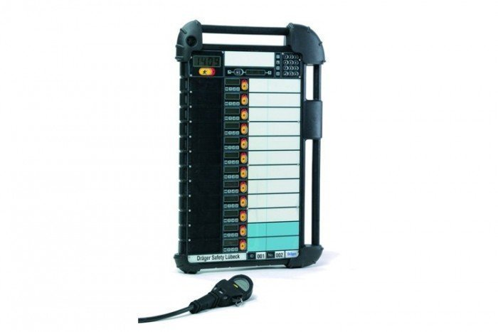 Drager Entry Control Board 862.9625 Mhz (UK Fire Brigades)