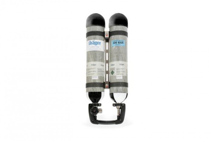 Drager Twin Cylinder - Pack 2 x 3.4L (ABB)
