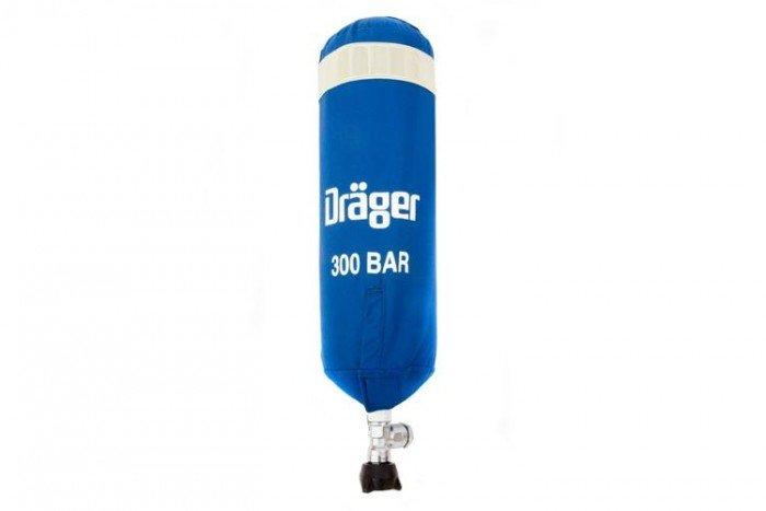 Drager 2 Litre 300 bar Cylinder cover
