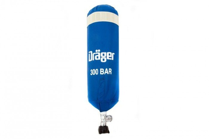 Drager 3 Litre 300 bar Cylinder cover