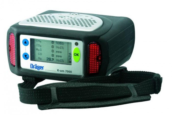 Drager X-am 7000 Gas Detection Kit (Pumped) CatEx/O2/CO/H2S