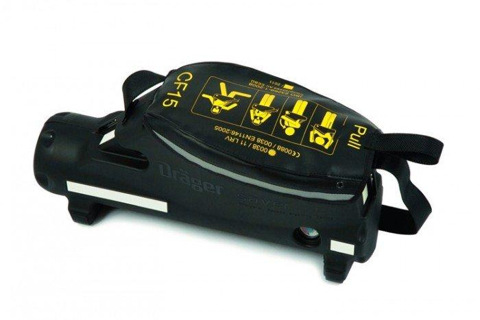 Drager Saver CF15 Emergency Escape Breathing Apparatus (Hard Case + SE)