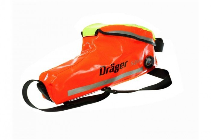 Drager Saver PP10 EEBA (A - With Supply Hose + Soft Case)