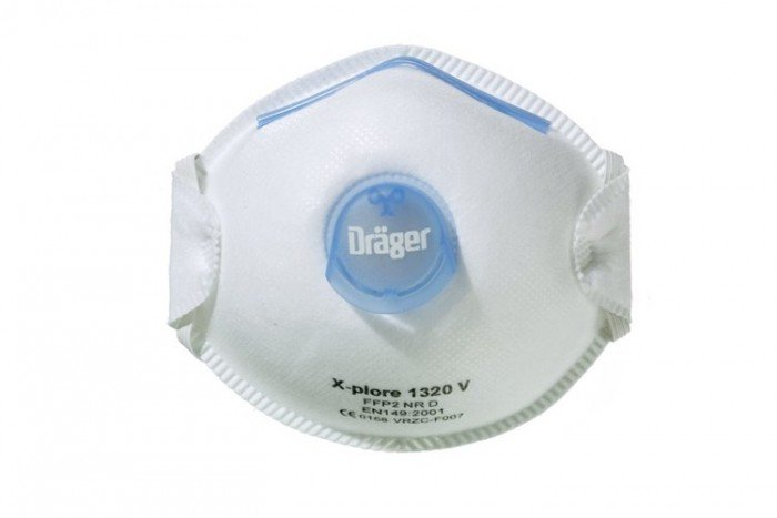 Drager X-plore 1320 - FFP2-V (Pack of 10)