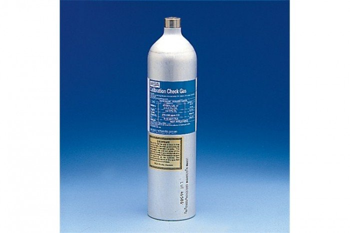 MSA Calibration Gas (100L) ORION Mix - 1.45% CH4 / 15% O2
