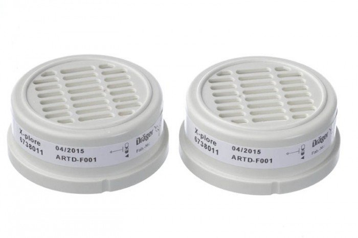 Drager Bayonet P3 R Particle Filters (11 pairs)