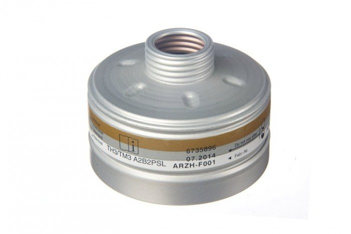 Drager X-plore RD40 CARGO Filter 1140 A2B2P3 R D (x 27)