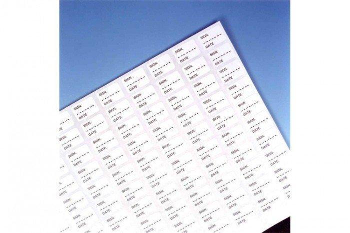 Drager Calibration Labels for Alcotest 6810 (100 pieces)