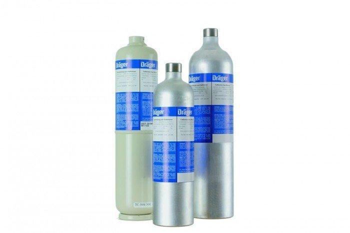 Drager 58L Hydrogen Cyanide - HCN/nitrogen 10ppm Calibration Gas
