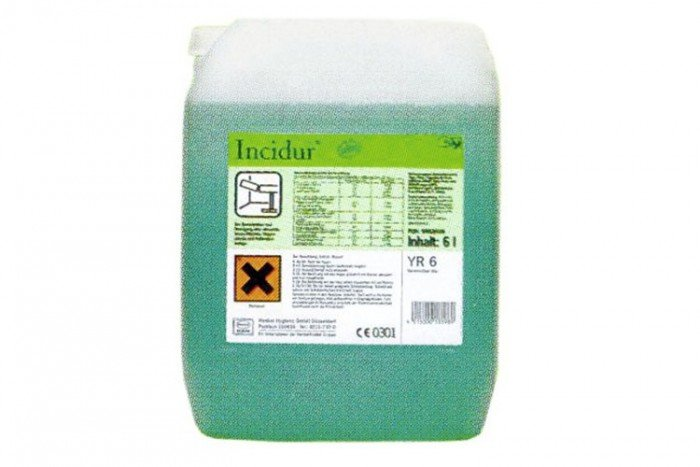 Drager Incidur Disinfectant Fluid - 6L