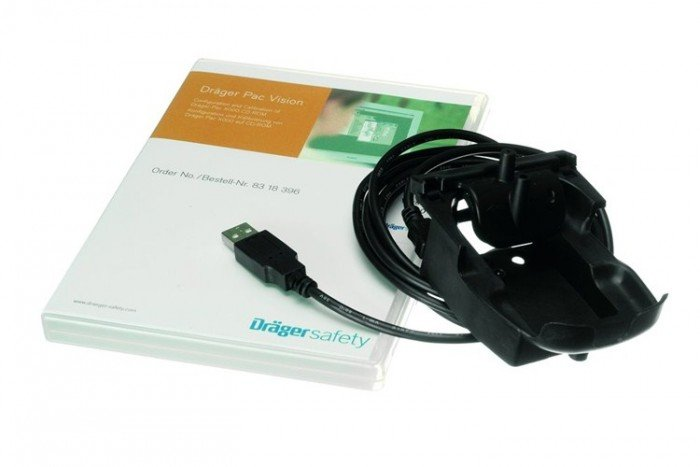 Drager Module for Pac 1000 - 7000 with USB cable and PacVision