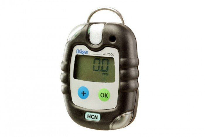 Drager - Pac 7000 Hydrogen Cyanide (HCN) Personal Gas Detector