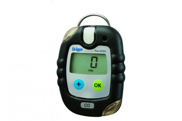 Drager Pac 5500 Oxygen (O2) Personal Gas Detector