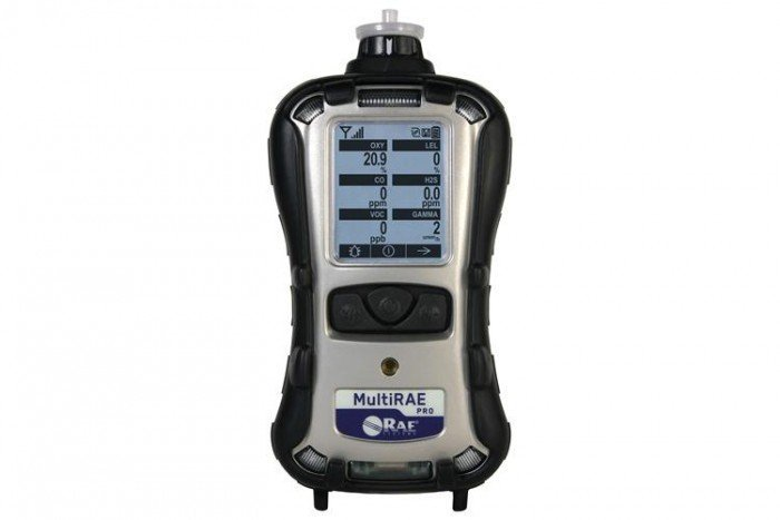 MultiRAE Pro Pump. 10.6 eV - PID/LEL/Cl2/NH3/O2 (PGM-6248) Gas Detector